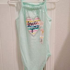 24 month toddler girl mint colored bodysuit